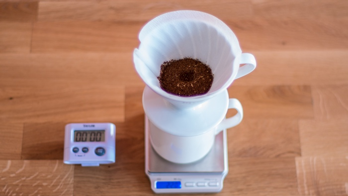 Kims Coffee - V60 Step 5